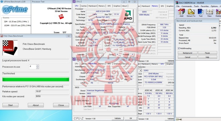 total AMD Liano A8 3850 APU Real Performance Tests Review