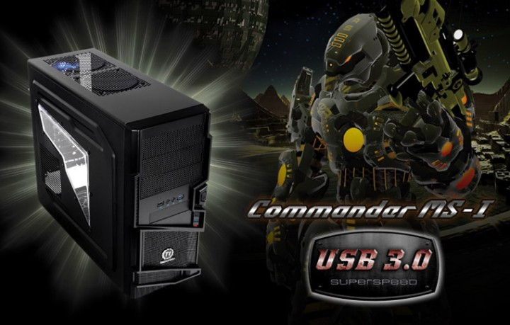 760x485 720x459 Thermaltake Launches New Entry Level e Sport Gaming Chassis: The Commander MS I