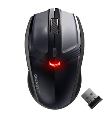 image001 GIGABYTE ECO500 Wireless Laser Mouse Styles Up Your Office