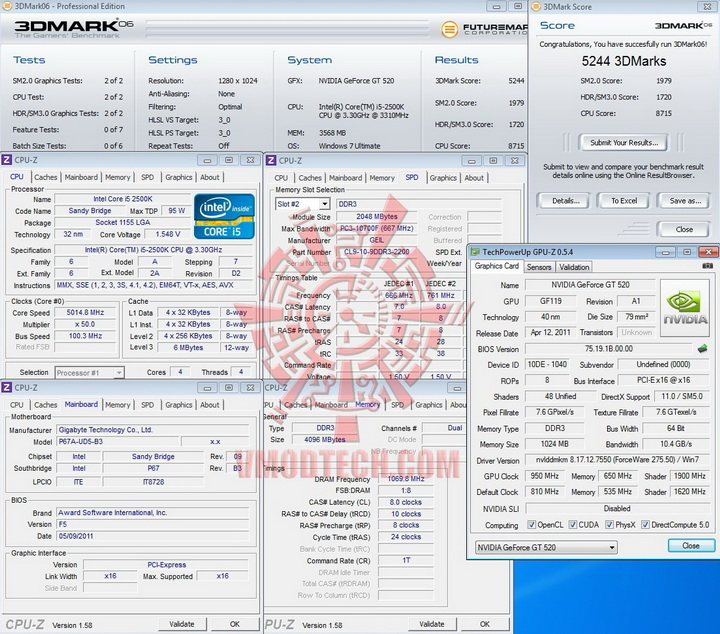 06 950 PaLiT Geforce GT 520 1024MB DDR3 Review