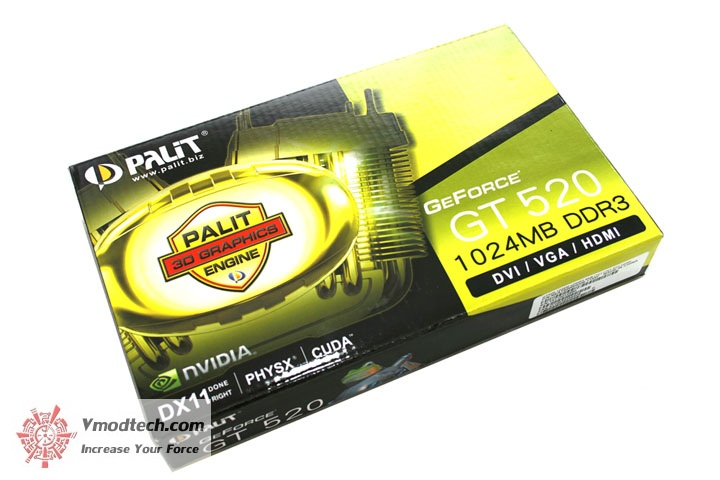 mg 4266 PaLiT Geforce GT 520 1024MB DDR3 Review
