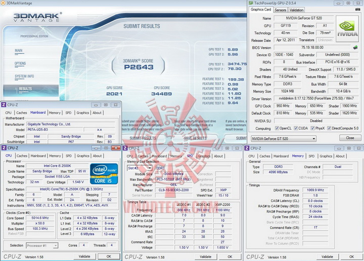 vantage 950 PaLiT Geforce GT 520 1024MB DDR3 Review