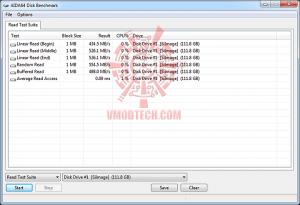 aida read test 11 300x205 OCZ RevoDrive 120GB