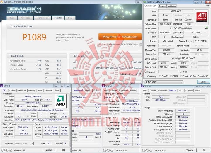 11 BIOSTAR TA75M+ Review
