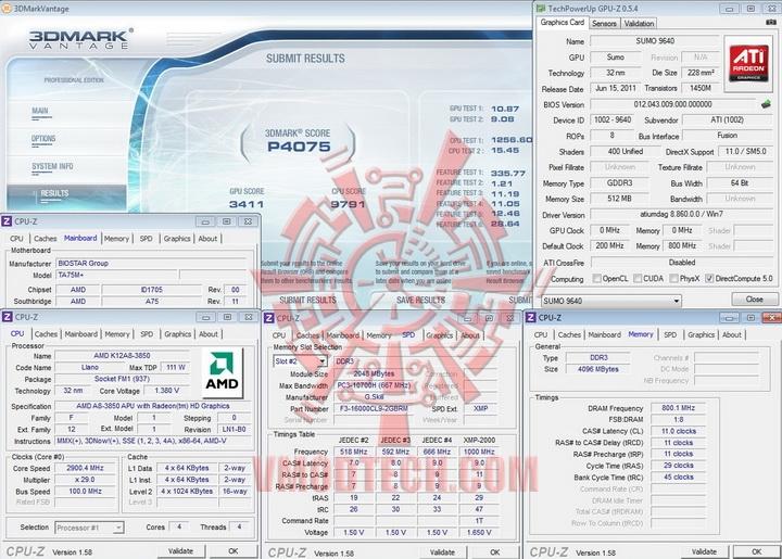 vantage BIOSTAR TA75M+ Review