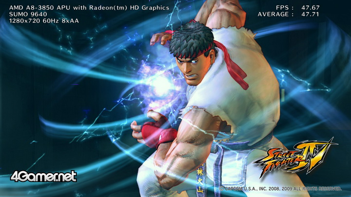 streetfighteriv benchmark 2011 07 12 23 37 47 55 BIOSTAR TA75A+ Review