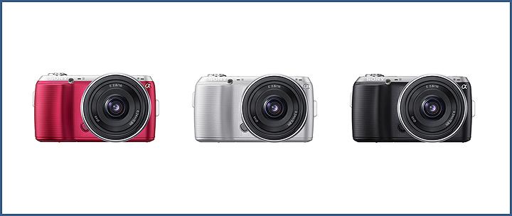 nex c3 all colors โซนี่ไทยพร้อมวางตลาดกล้องอัลฟ่า NEX C3 ในไทย