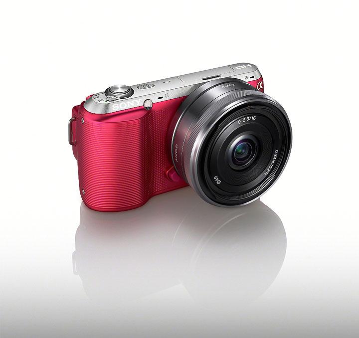nex c3 pink angle โซนี่ไทยพร้อมวางตลาดกล้องอัลฟ่า NEX C3 ในไทย