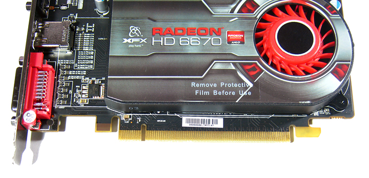 title introduction XFX Radeon HD6670 1GB GDDR5 : Review