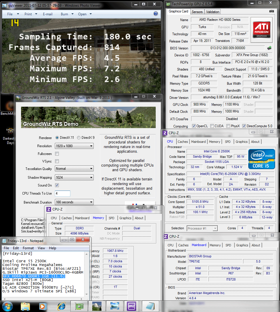 900 1100 dx11 groundwiz 45 XFX Radeon HD6670 1GB GDDR5 : Review