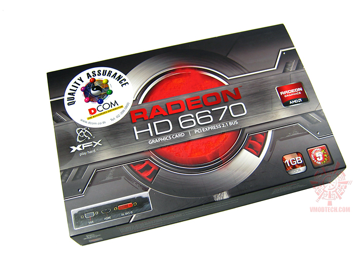 xfx hd6670 1gb 01 XFX Radeon HD6670 1GB GDDR5 : Review