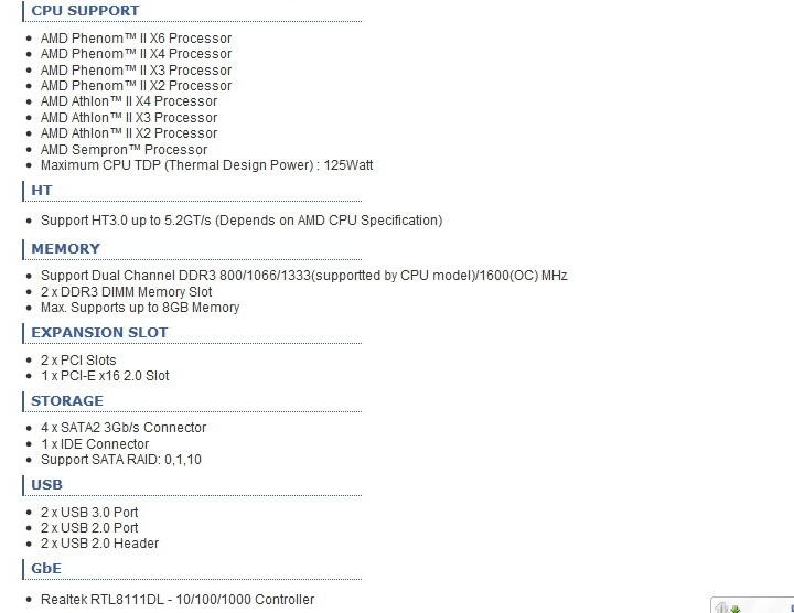 3 BIOSTAR A880GU3 Review