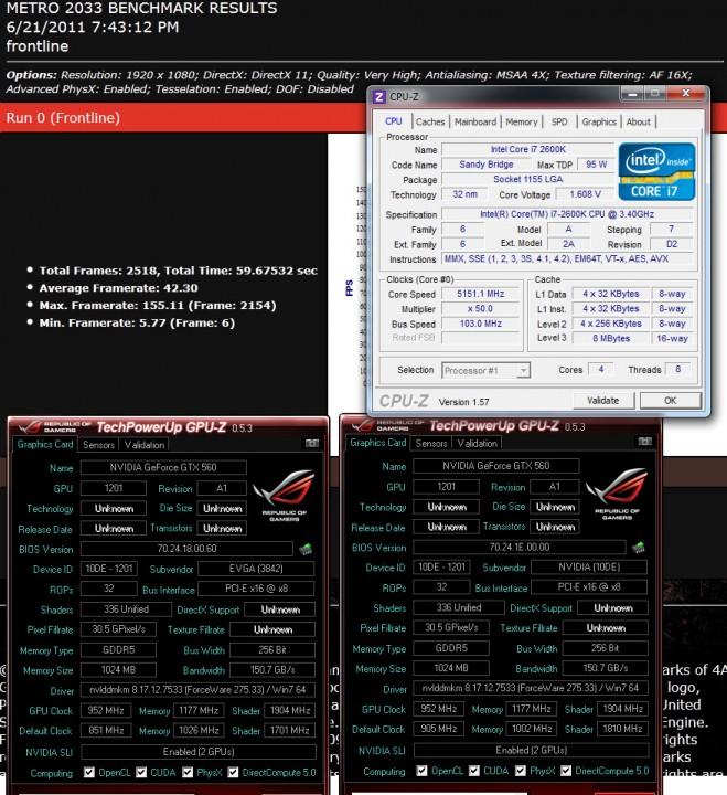 metro 659x720 Nvidia GTX560 SLI Show Off