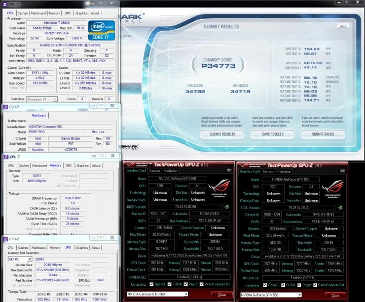 vantage 1 720x597 Nvidia GTX560 SLI Show Off