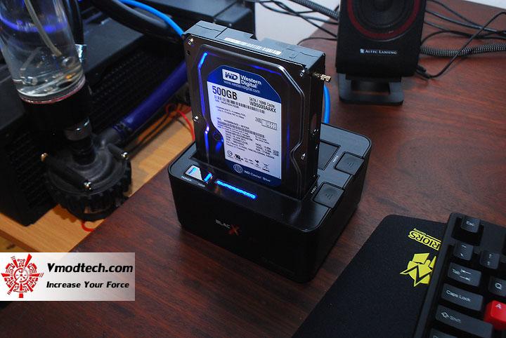 dsc 0865 Thermaltake BlacX Duet 5G USB 3.0 HD Docking Station