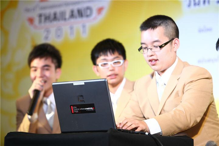 img 3267  เอชพีส่งเสริมความรู้ด้านเทคโนโลยีคอมพิวเตอร์ เพื่อสรรค์สร้างอัจฉริยภาพเยาวชนไทยสู่เวทีคนเก่งระดับสากล