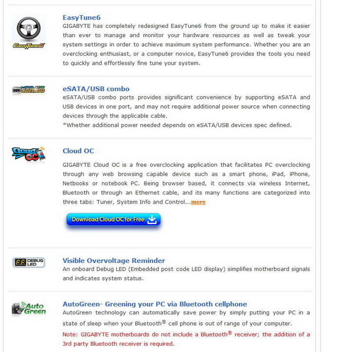 81 Gigabyte 990FXA UD7 Review