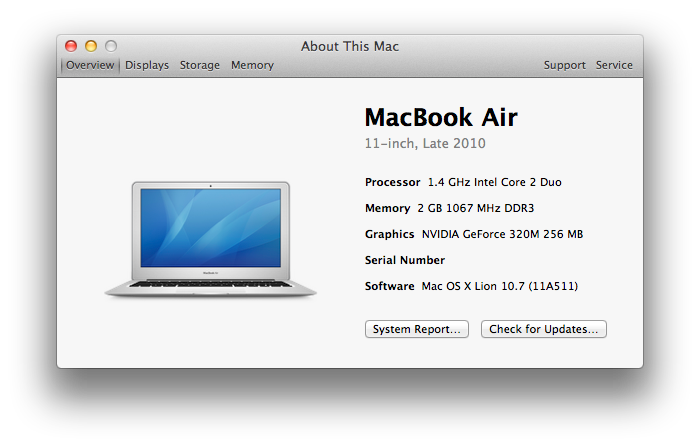1 MacBook Air Late 2010 Preview!