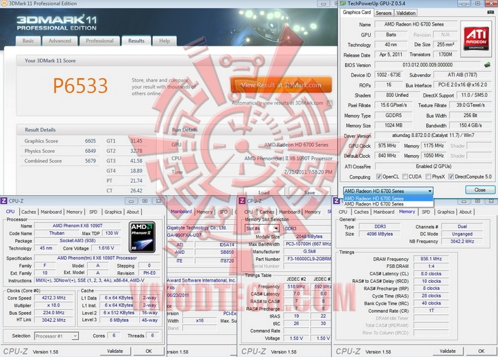 11 975 PowerColor Radeon HD6790 CrossFire Review