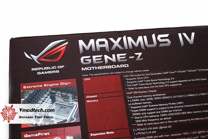 c ASUS Maximus IV GENE Z Motherboard