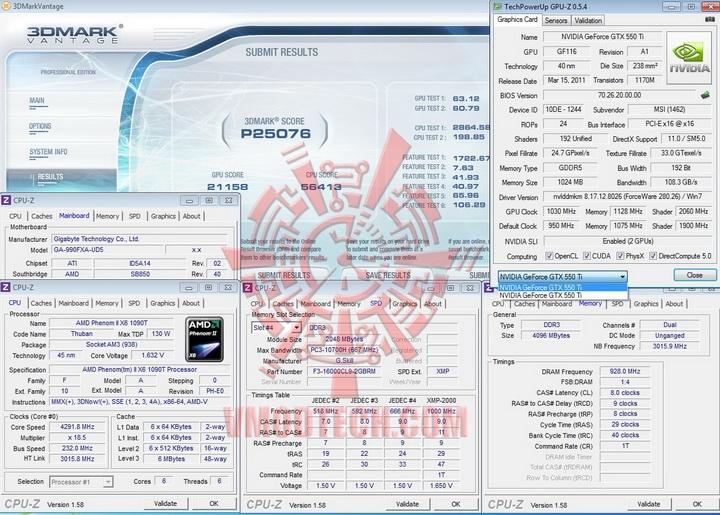 vantage 1030 sli Gigabyte 990FXA UD5 Review