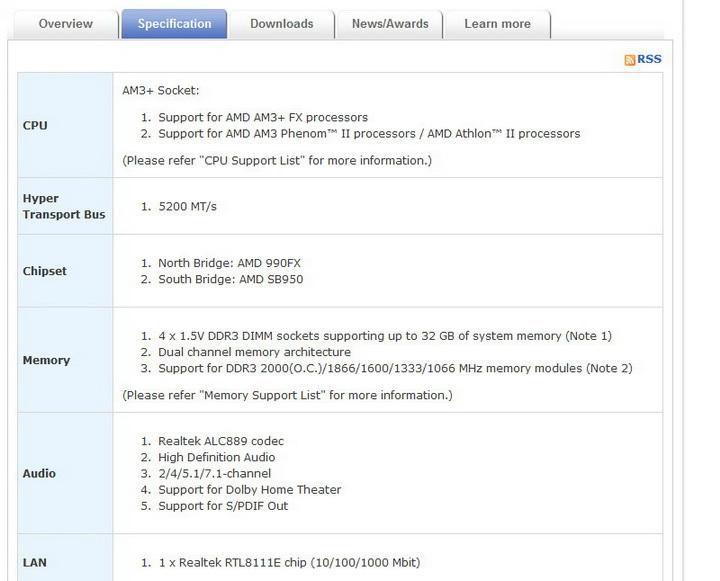 10 Gigabyte 990FXA UD5 Review
