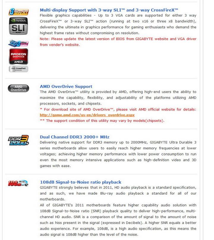 5 Gigabyte 990FXA UD5 Review