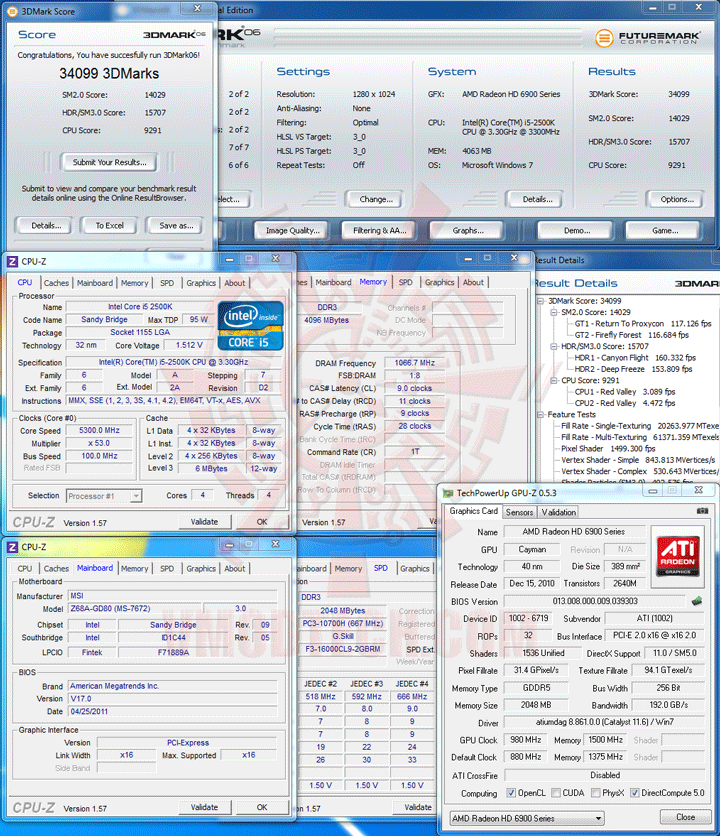 06 MSI Z68A GD80 B3 : Master of Performance & Stabilities