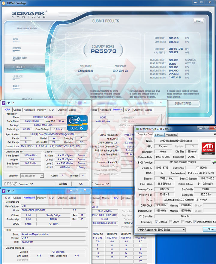 07 MSI Z68A GD80 B3 : Master of Performance & Stabilities