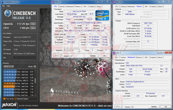 c115 MSI Z68A GD80 B3 : Master of Performance & Stabilities