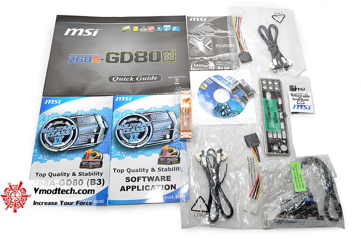 dsc 0122 MSI Z68A GD80 B3 : Master of Performance & Stabilities