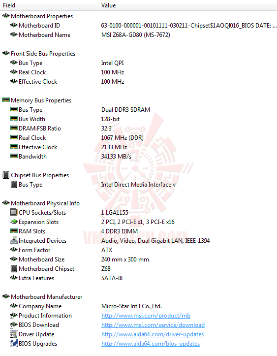 e1 MSI Z68A GD80 B3 : Master of Performance & Stabilities