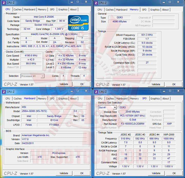ocgenie MSI Z68A GD80 B3 : Master of Performance & Stabilities