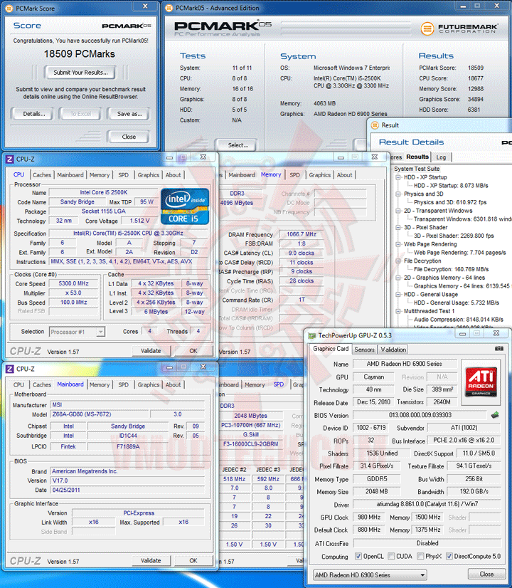 pcm05 MSI Z68A GD80 B3 : Master of Performance & Stabilities