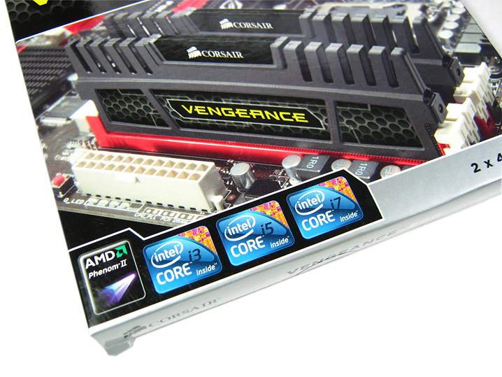 title intorduction Corsair VENGEANCE DDR3 1600CL9 8GB : Review