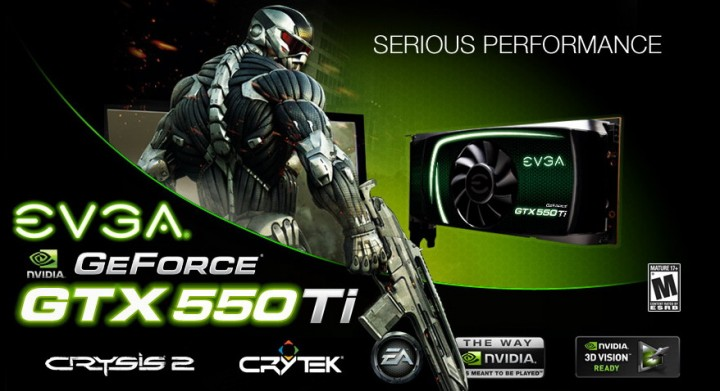 1 720x391 EVGA GeForce GTX 550Ti SC 1024MB GDDR5 Review