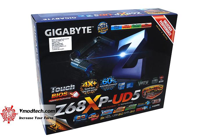 1 GIGABYTE Z68XP UD5 Extreme Motherboard