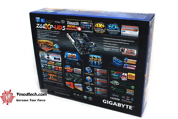 3 GIGABYTE Z68XP UD5 Extreme Motherboard