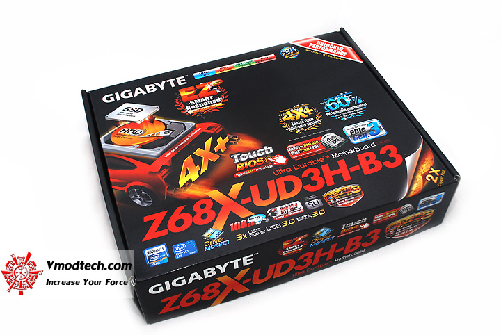 1 GIGABYTE Z68X UD3H B3 Motherboard Review