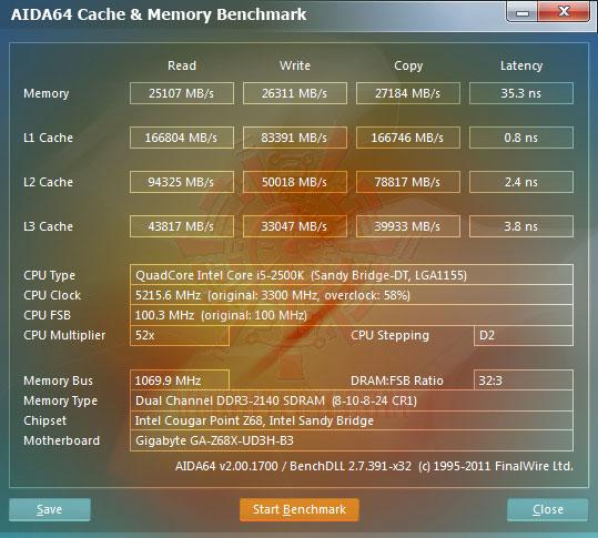 ev1 GIGABYTE Z68X UD3H B3 Motherboard Review