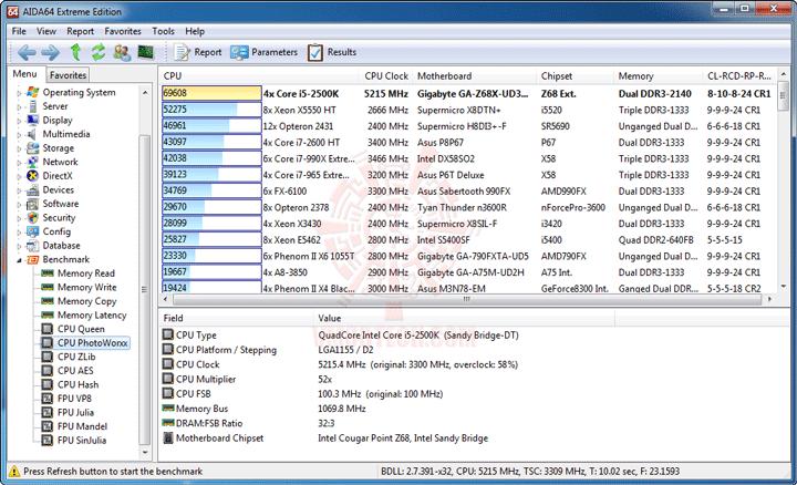 ev3 GIGABYTE Z68X UD3H B3 Motherboard Review