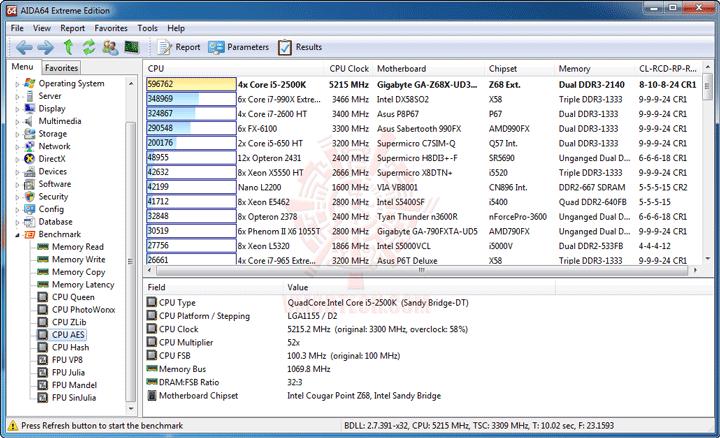 ev5 GIGABYTE Z68X UD3H B3 Motherboard Review
