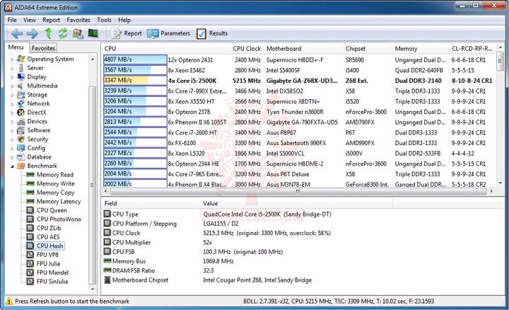 ev6 GIGABYTE Z68X UD3H B3 Motherboard Review