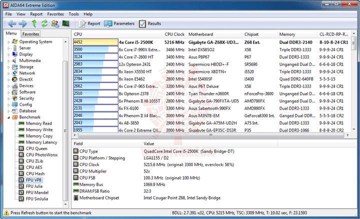 ev7 GIGABYTE Z68X UD3H B3 Motherboard Review