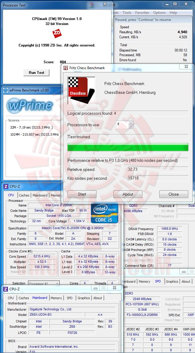 v GIGABYTE Z68X UD3H B3 Motherboard Review