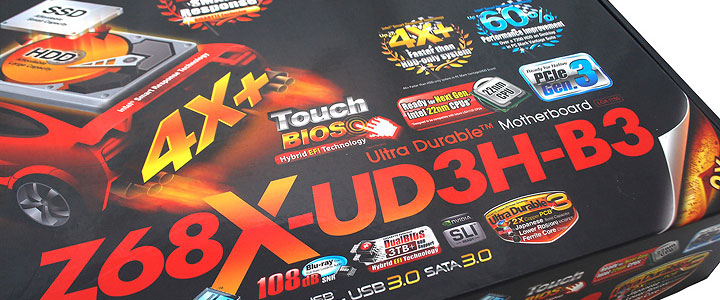 z68x ud3h b3 GIGABYTE Z68X UD3H B3 Motherboard Review
