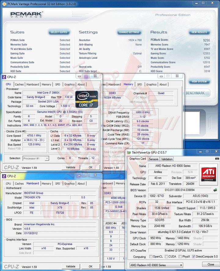 pcmvt BIOSTAR TPOWER X79 Mainboard Review