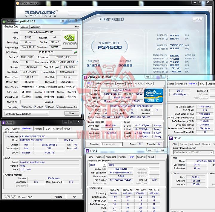 3dvantage ASUS RAMPAGE IV EXTREME LGA 2011 Motherboard