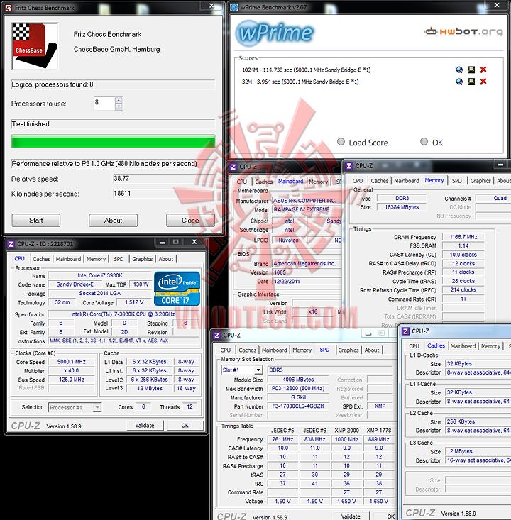 generalbench ASUS RAMPAGE IV EXTREME LGA 2011 Motherboard