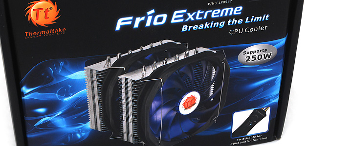 main Tt Frio Extreme CPU Heatsink Review